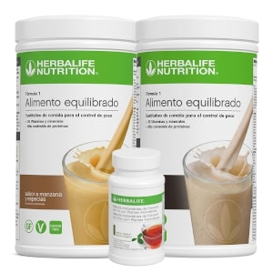 2 batidos Herbalife | Té Thermojetics